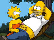 Lisa in sexy lingerie gives a good fuck to Bart - 10 cartoons Pictures