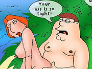 Toons fuck outdoors in every possible way - 10 cartoons Pictures